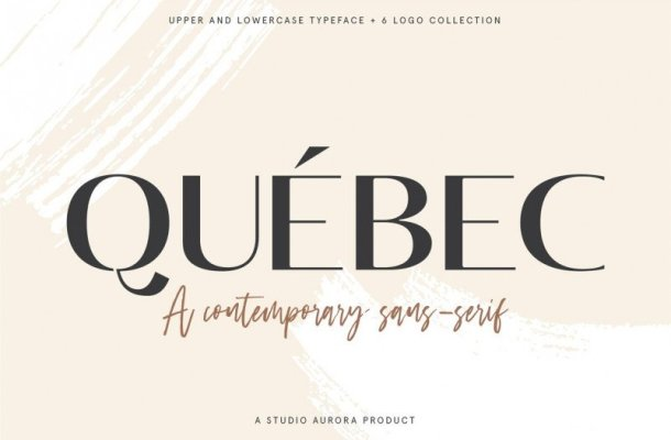 Quebec Sans Serif Font