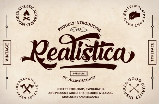 Realistica Font