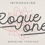 Rogue One Script Font