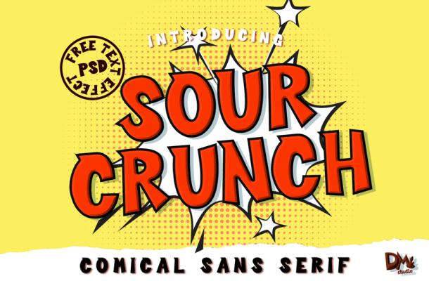 Sour Crunch Font