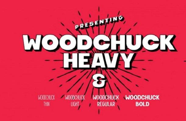 Woodchuck Free Font