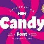Candy Brush Font