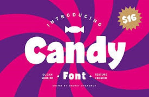 Candy Brush Font