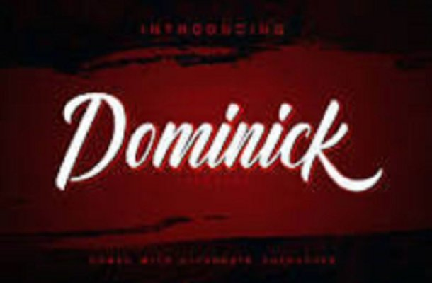 Dominick Calligraphy Font