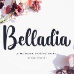 Belladia Script Font