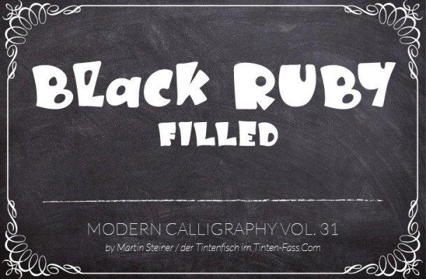 Black Ruby Font