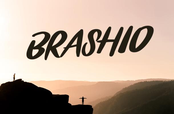Brashio Font