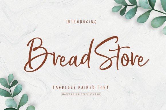 Bread Store Handwritten Font