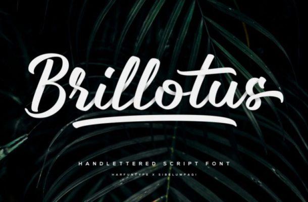 Brillotus Script Font