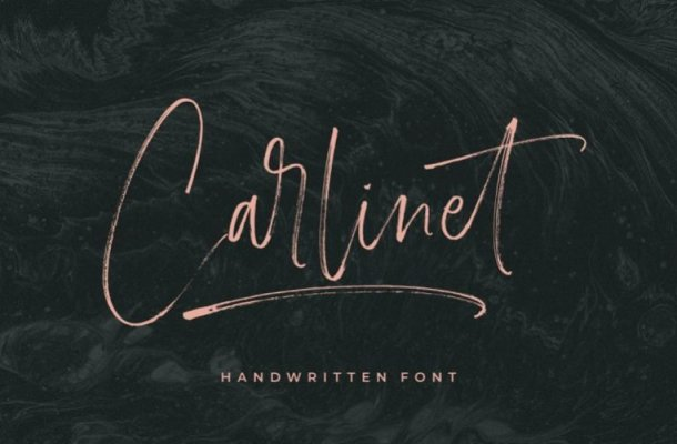 Carlinet Script Font