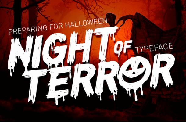 CF Night of Terror Font