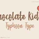 Chocolate Kids Script Font