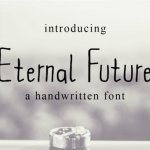 Eternal Future Handwritten Font