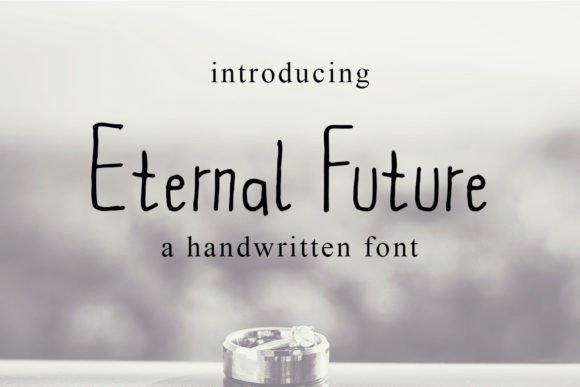 Eternal Future Handwritten Font