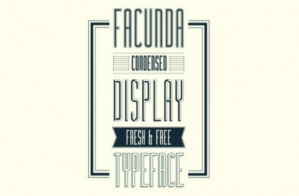Facunda Display Font