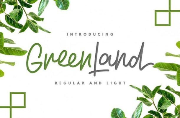 Greenland Handwritten Font