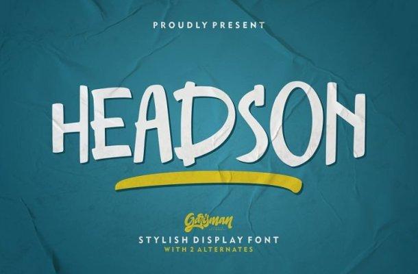 Headson Script Font