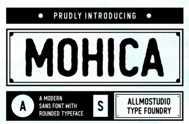 Mohica Sans Font