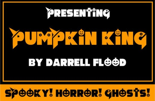 Pumpkin King Display Font