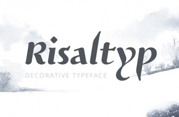 Risaltyp Typeface