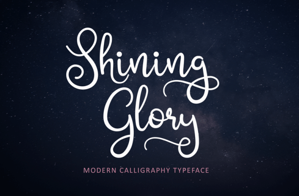Shining Glory Font