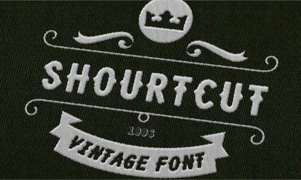 Shourtcut Font