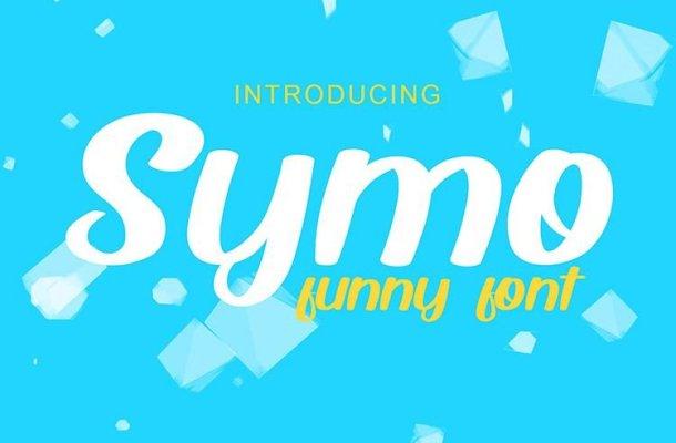 Symo Script Font