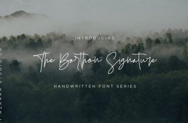 The Barthon Handwritten Font