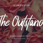 The Outstand Handwritten Font