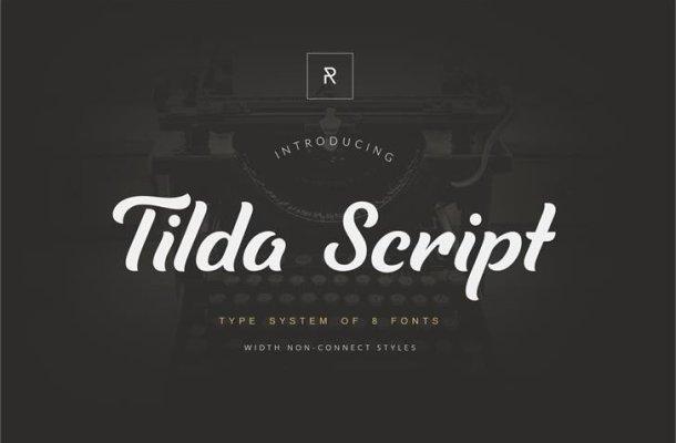 Tilda Handwritten Font