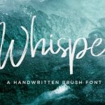 Whisper Brush Font