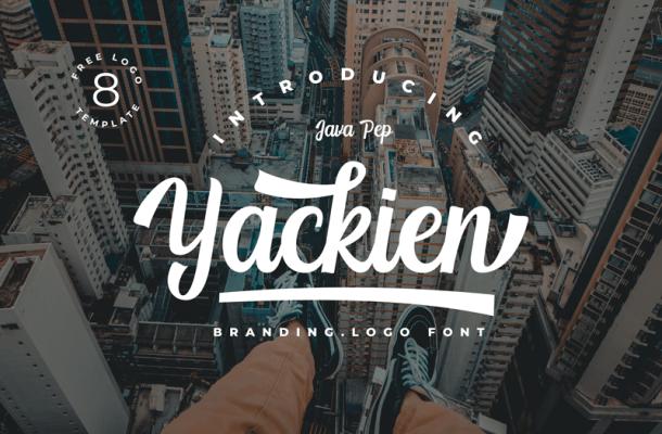 Yackien Font