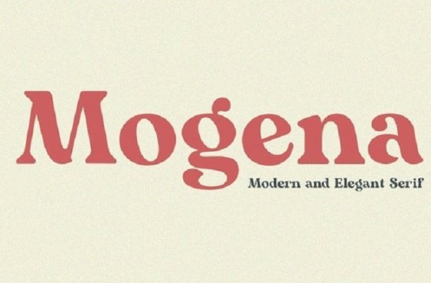 Mogena Font