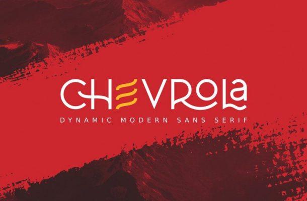 Al Chevrola – Modern Sans Font