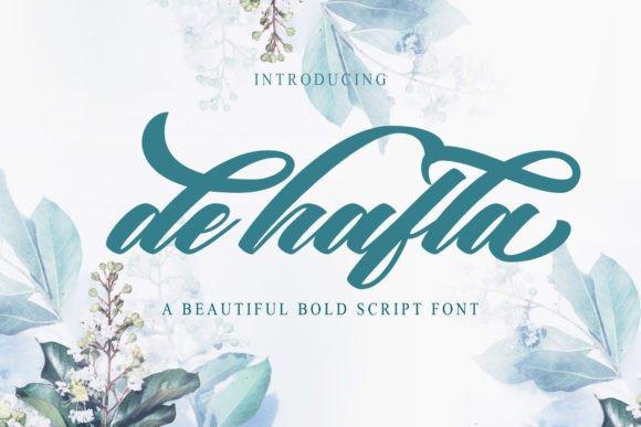De Hafla Script Font