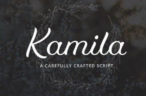 Kamila Script Font