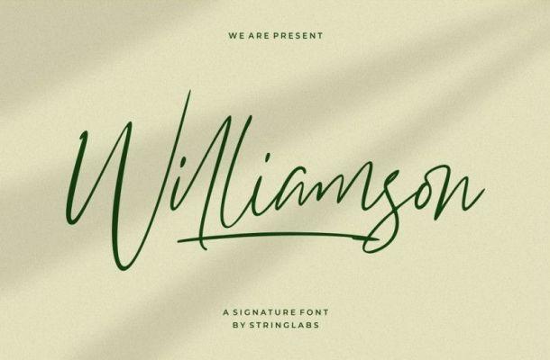 Williamson Font