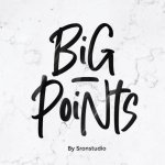 Big Points Font