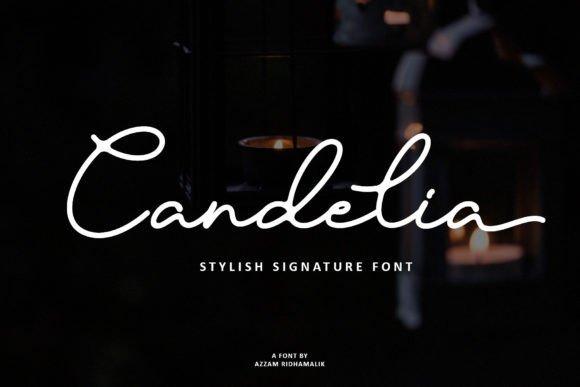 Candelia Signature Font