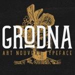 Grodna Vintage Font