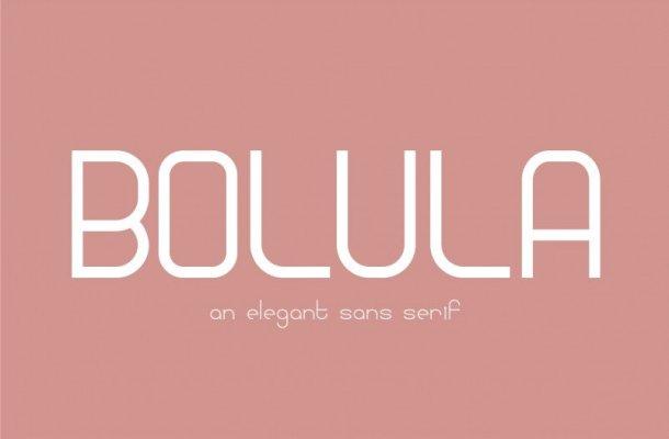 Bolula Sans Serif Font