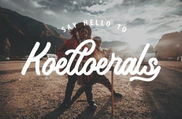 Koeltoerals Script Font Free