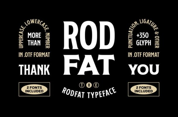Rodfat Display Font