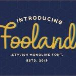 Fooland Font