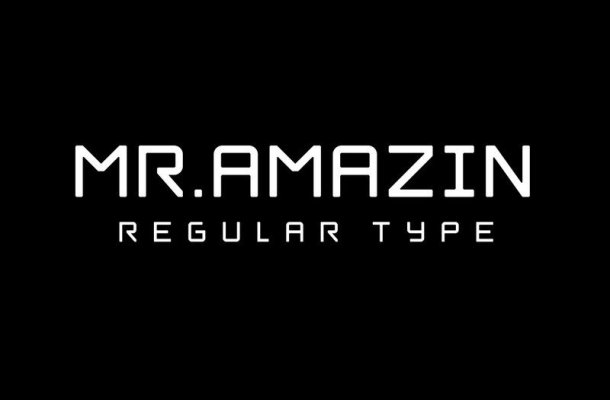 Mr.Amazin Display Font