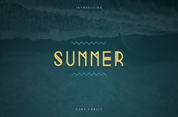 Summer Display Font – Free Demo