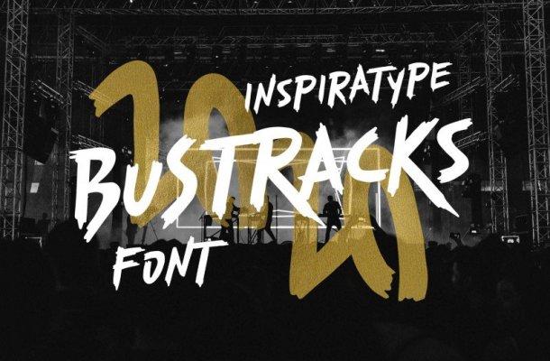 Bustracks Font Free