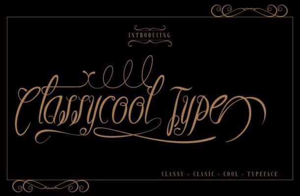 Classycool Type Free