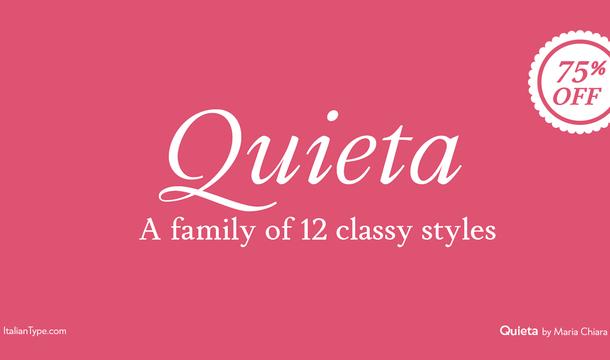 Quieta Serif Font Family