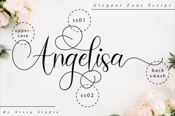 Amadea Script Font